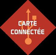 Logo carte connectée